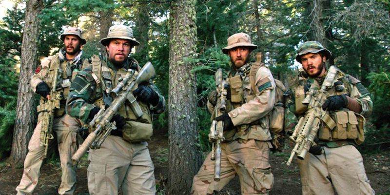 by: PHOTO COURTESY UNIVERSAL PICTURES - A scene from the film, Lone Survivor, about four Navy Seals on an ill-fated mission in the mountains of eastern Afghanistan.