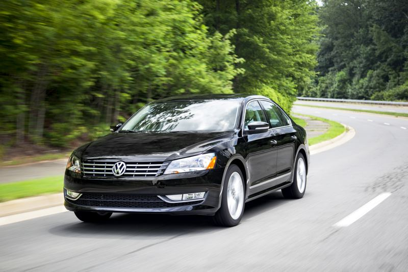 by: VOLKSWAGEN OF AMERICA, INC. - The redesigned 2014 VW Passat TSI balances room, economy and performance.