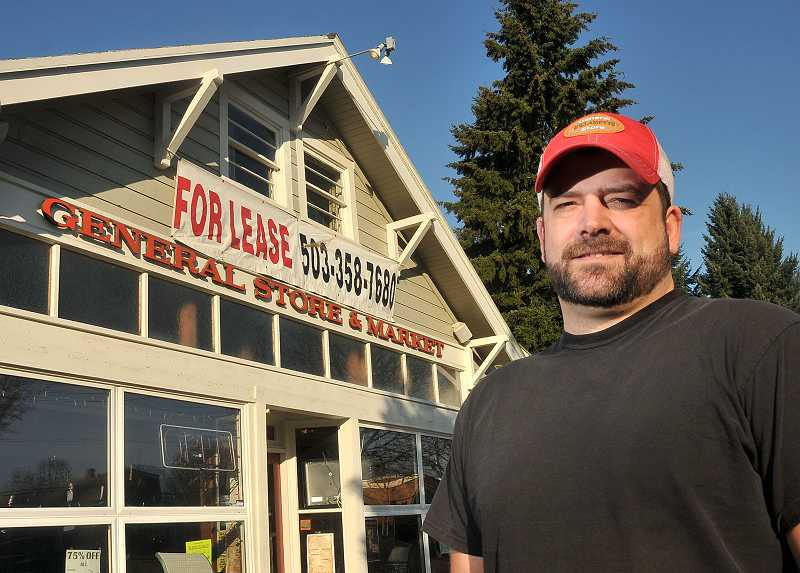 by: TIDINGS PHOTO: VERN UYETAKE - Though the Willamette General Store was forced to shut its doors for good Jan. 18, owner Ryan Dato hopes customers remember the positive experiences they had since it reopened in 2011.
