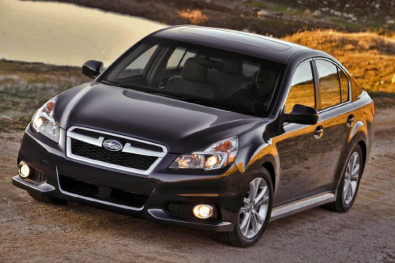 by: SUBARU OF AMERICA, INC. - The 2014 Subaru Legacy is the only affordable midsize car with with standard all-wheel-drive.