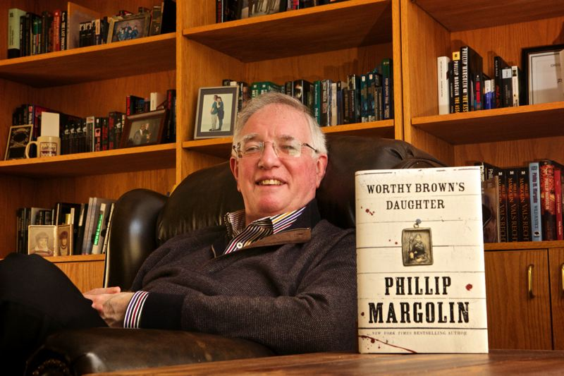 by: PHOTO BY JAIME VALDEZ - Portland author Phillip Margolin will read from 'Worthy Brown's Daughter' at the Ledding Cultural Forum on Feb. 24.