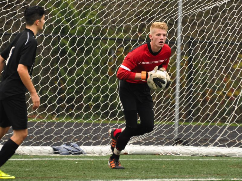 by: COURTESY OF BETH MUMFORD - Austin Rogers from Portland Christian High comes from a goalkeeping family that includes father Glenn, who played for the Timbers, and older brother Keegan, a former Timbers PDL goalie now starring at Western Washington University.