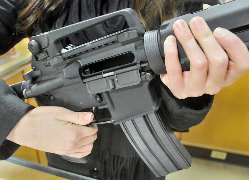 by: GARY ALLEN - Bill - The legislation would extend to all manner of firearm purchases in Oregon.