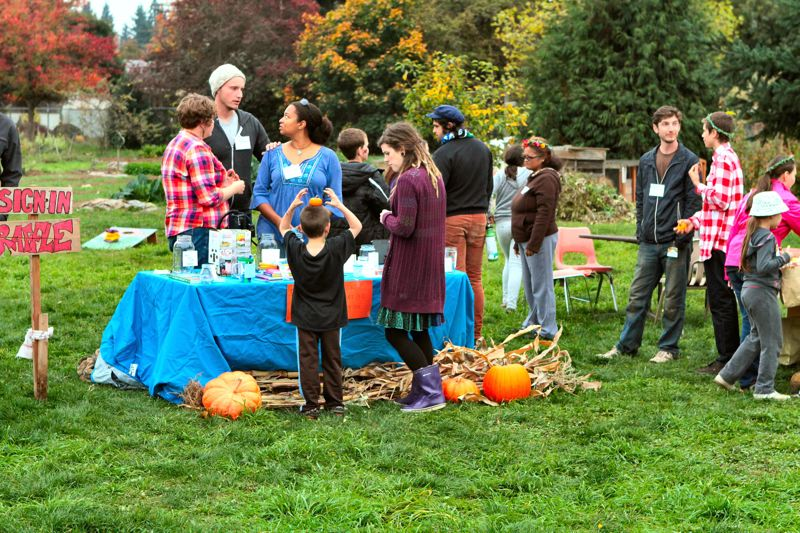 by: DAVID F. ASHTON - The Learning Garden Lab meadow in the Brentwood-Darlington neighborhood is the site of the annual Harvest Festival.