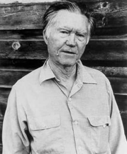 by: SUBMITTED PHOTO - William Stafford, Oregon's most well-known poet, will be the subject of a special program at the Canby Public Library in February.