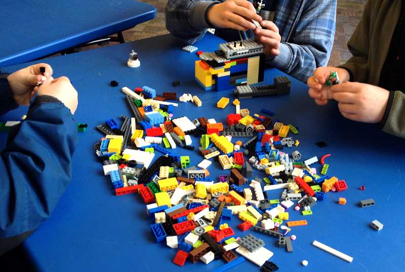 by: CONTRIBUTED - Library hosts LEGO Creativity Club.