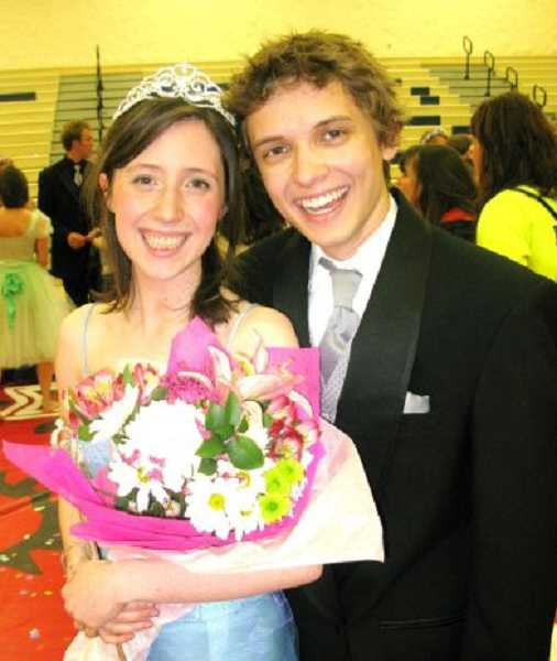 by: SUBMITTED PHOTO - Melissa Wilk was the queen of May Fete in her senior year at Lake Oswego High, and Gavin Young escorted her to the dance.