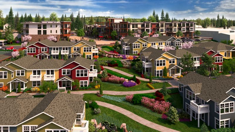 by: CONTRIBUTED - Rose Villas $35 million reconstruction project will include cottages and apartment-style units built around gardens and amenities.