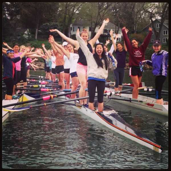 by: SUBMITTED PHOTO - Lake Oswego Community Rowing is taking registrations for youth team rowing for the spring season. Dont miss the fun.