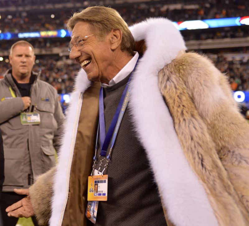 If Joe Namath needs a press credential to get on the field, so does everyone.