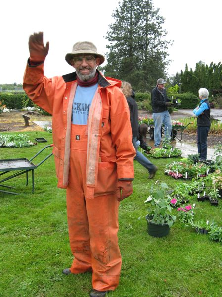 by: PHOTO COURTESY OF CCC - Bruce Nelson, an instructor at CCC, is pictured above lending a hand at a planting event.