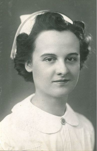 by: CONTRIBUTED PHOTO - Betty Maire as a registered nurse.