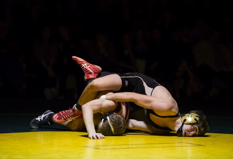 by: JON HOUSE - Kane Snapp scored a victory for West Linn in his match at 132 pounds last week. Snapp shut out his opponent from Clackamas 6-0.