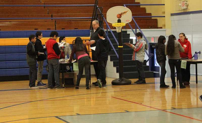 by: LINDSAY KEEFER - French Prairie Middle School Career Fair
