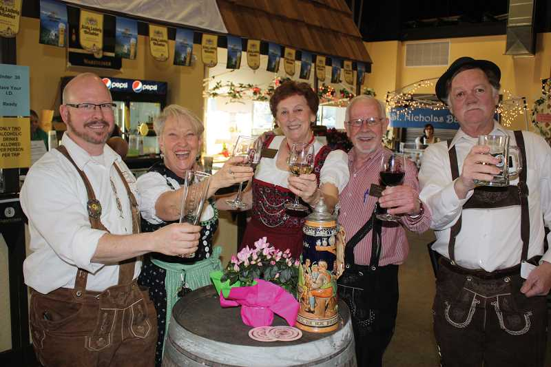 by: FILE PHOTO - Wurstfest in Mount Angel will be Feb. 28 and March 1 at the Festhalle.