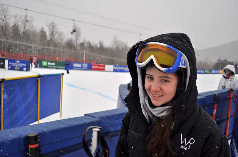 by: SUBMITTED PHOTO - Jacqueline Wiles, a former student in the North Marion School District, won the U.S. World Cup womens downhill championship in December and will compete in the 2014 Olympic Games in Sochi this month.