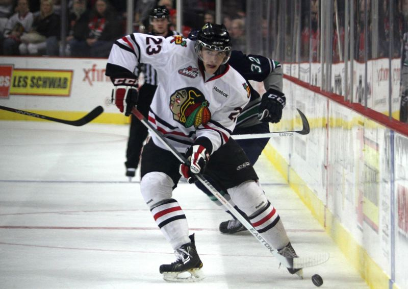 by: TRIBUNE FILE PHOTO: JONATHAN HOUSE - Dominic Turgeon is among a bevy of forwards giving the Portland Winterhawks ample depth up front this season.