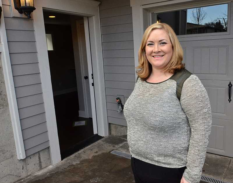 by: STAFF PHOTOS: VERN UYETAKE - Renaissance Homes broker Amanda Andruss says accessory dwelling units (ADUs), formerly called granny flats, are coming back into vogue.