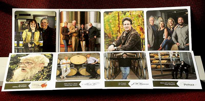 by: GARY ALLEN - The new Chehalem Mountains Winegrowers trading cards encourage consumers to learn about the winemakers behind the wine, and instill a bit of fun in the experience.