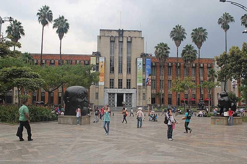 by: HOLLY M. GILL - Botero Plaza, in Medellin, Colombia, named for the artist Fernando Botero, is home to a couple dozen of his sculptures, as well as an art museum.