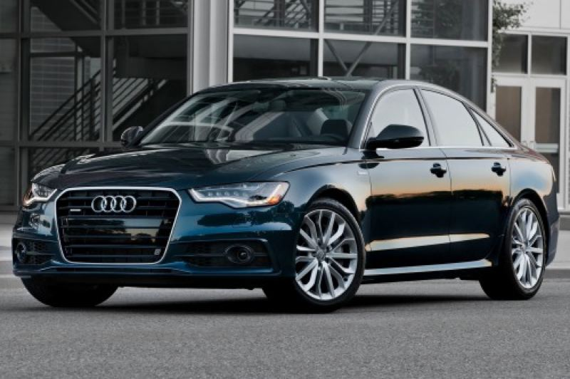 by: AUDI PRESS AG - Understated elegance and balanced road manners characterize the 2014 Audi A6.