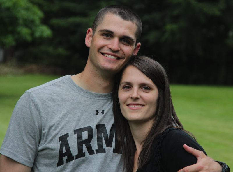 by: COURTESY OF COREY LEDERER/FACEBOOK PAGE - John A. Pelham of Beaverton, shown here with Lyndsey Pelham Lederer, was killed Wednesday, Feb. 12, in Afghanistan. He was a 2010 graduate of Sunset High School.
