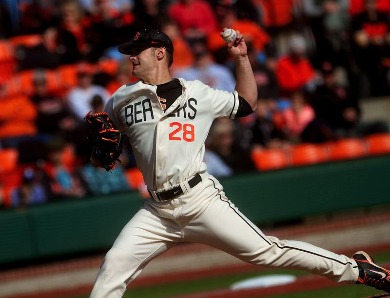 by: COURTESY OF ETHAN ERICKSON - Oregon State's Ben Wetzler, who was scheduled to start Friday's season opener, has been suspended by the NCAA.