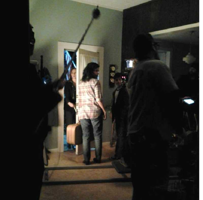 by: CAROL WESTERGREEN - Actors start a Grimm television scene during one of many location shoots in Carol Westergreen's Molalla home.