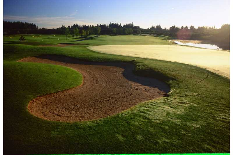 by: OREGON GOLF ASSOCIATION - Oregon Golf Association brought this 18-hole golf course to Woodburn in the mid-1990s, and it's a popular site for golf enthusiasts.