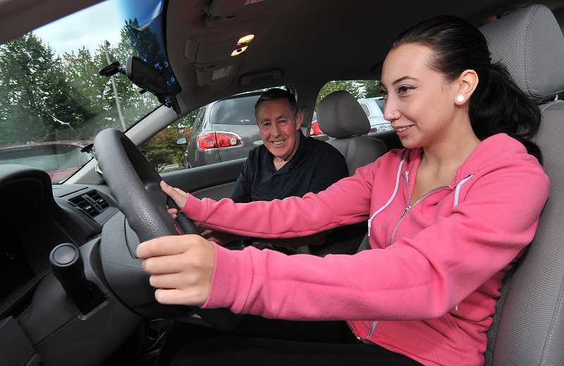 by: STAFF FILE PHOTO - Teens can take drivers education through West Linn Parks and Recreation.