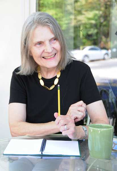 by: SUBMITTED PHOTO - Marylhurst University instructor Joan Maiers will lead a free poetry writing workshop March 8.