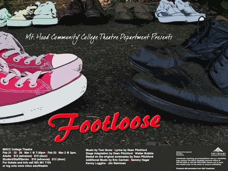 by: CONTRIBUTED IMAGE - Mt. Hood Community College is presenting 'Footloose.'