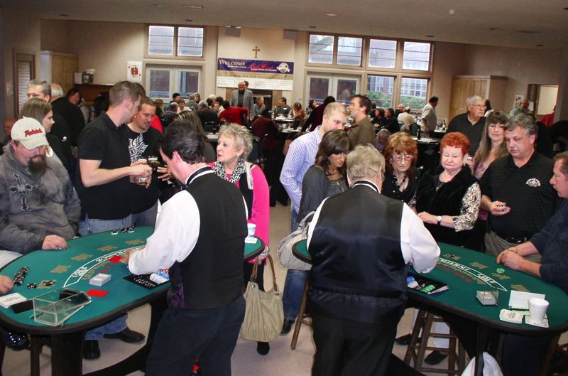 by: CONTRIBUTED PHOTO - The popular Gresham Breakfast Lions Club casino night is returning Saturday, March 8, at St. Henry Catholic Church in Gresham.