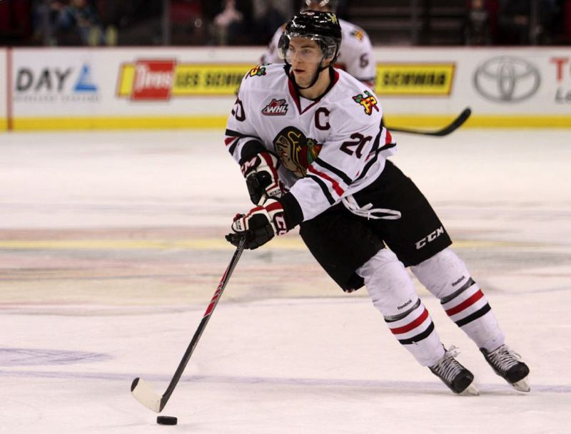 by: TRIBUNE PHOTO: JONATHAN HOUSE - Taylor Leier and the Portland Winterhawks go for win No. 18 in a row Friday night at home against the Kamloops Blazers.