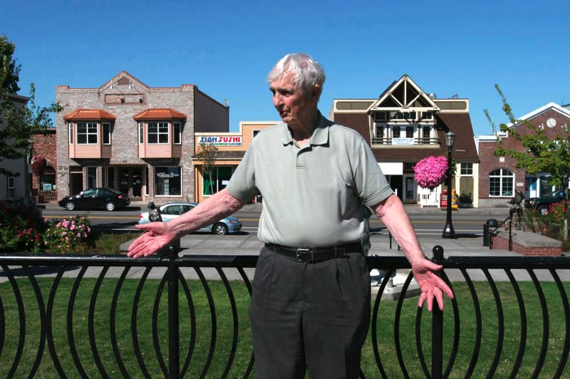 by: OUTLOOK FILE PHOTO:  - Paul Thalhofer, former Mayor of Troutdale, died Thursday, Feb. 13.