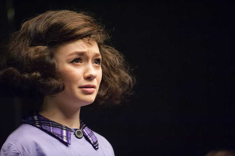 by: SPOKESMAN PHOTO: JOSH KULLA - The Diary of Anne Frank, starring freshman Hayden Wilde in the title role, opens in the WHS Black Box Theatre Feb. 27.