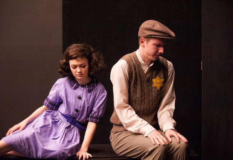 by: SPOKESMAN PHOTO: JOSH KULLA - 'The Diary of Anne Frank' opens Feb. 27 in Wilsonville High School's Black Box Theatre.