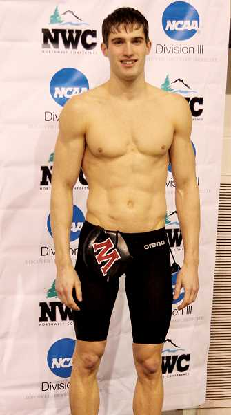 by: BOB WELLE - Kyle Wicks, formerly of Woodburn, helped Whitworth University claim its 12th consecutive conference swimming title.