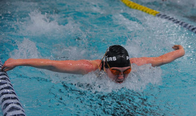 by: JOHN LARIVIERE - OCs Alissa Frazier, sixth at state in the butterfly, tenth in the breast stroke