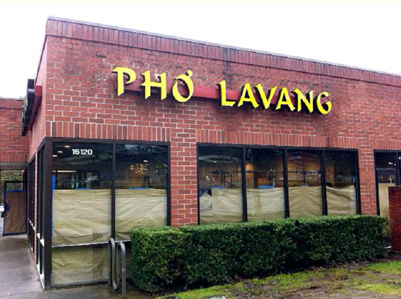 Pho Lavang will open early March in the building Blockbuster used at Boones Ferry Road in Lake Oswego.