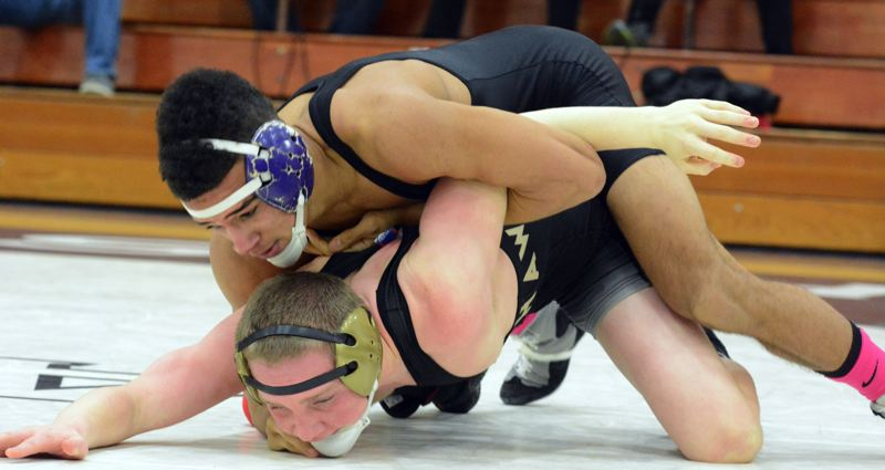 by: TIMES FILE PHOTO - Sunsets Spencer Stokes said his goal at the 6A state championships is to reach the finals, after winning the 138-pound bracket at the Special District One Championships.