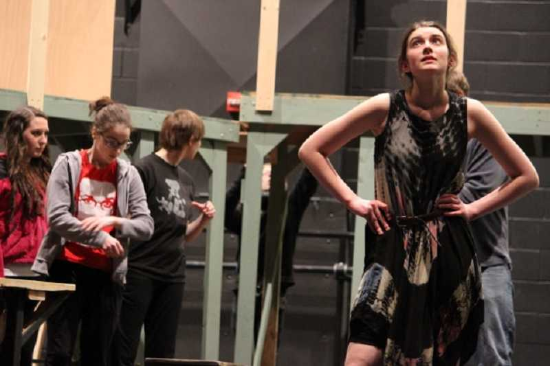 by: SUBMITTED PHOTO - With professional theater credits all across Portland, ACMA junior Katie McLoughlin plays Nancy.