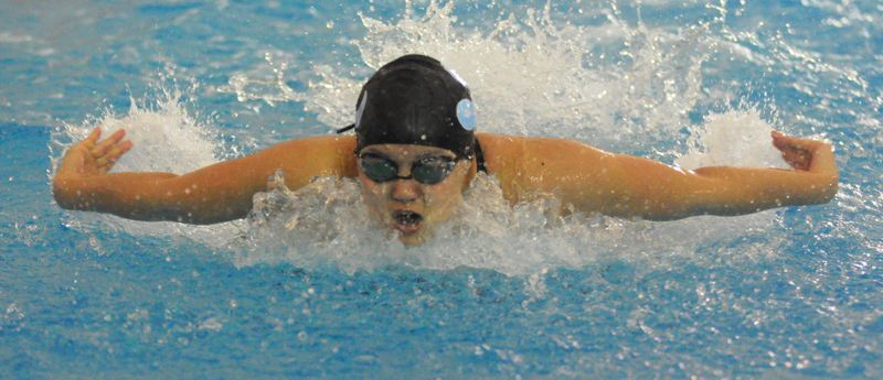 by: MATTHEW SHERMAN - Lakeridge's Brenda Cha took second in the individual medley and third in the 100 butterfly at the state meet last week, helping the Pacers earn a third-place trophy as a team.
