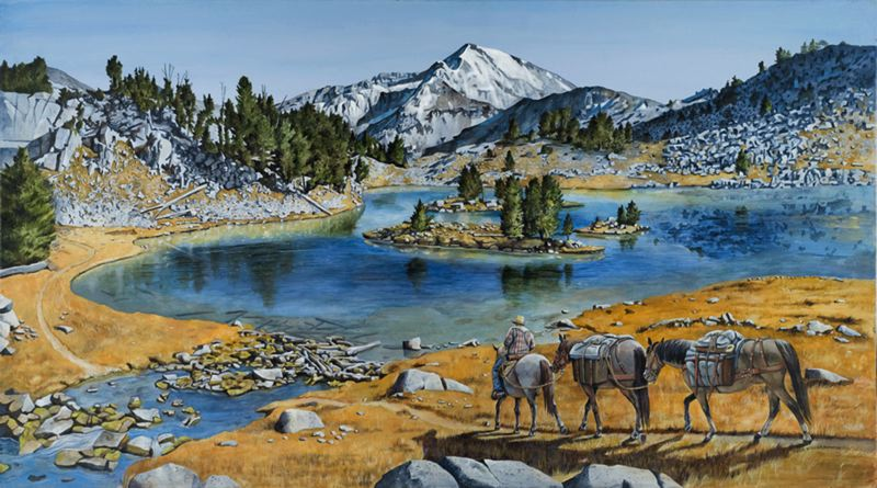 by: COURTESY PHOTO - Jane Vanderzanden paints the things she likes -- nature, wildlife and landscapes.