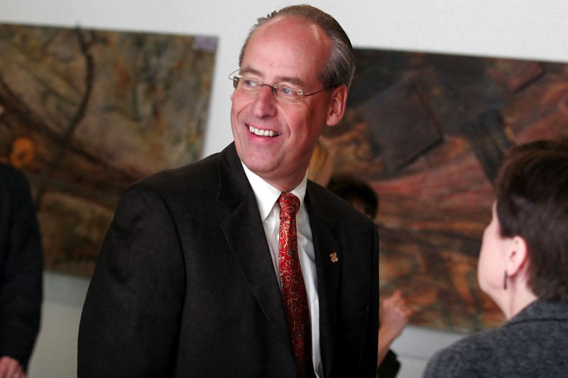 by: TRIBUNE FILE PHOTO: JONATHAN HOUSE - PSU President Wim Weiwel worked with former Mayor Sam Adams to create an education urban renewal district, which could be dismantled by current Mayor Charlie Hales.