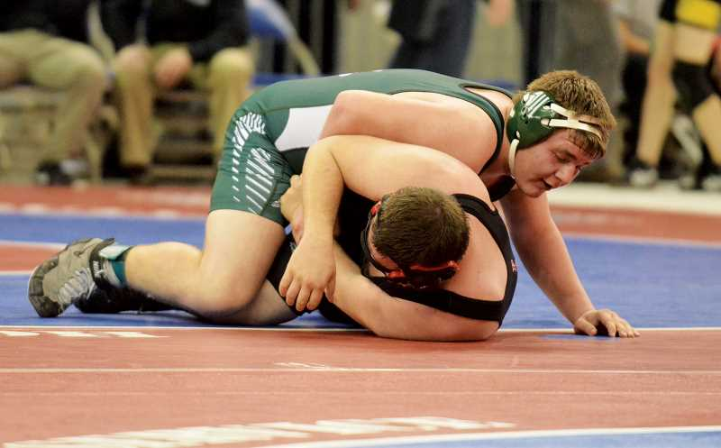 by: JEFF GOODMAN - Brennan Patterson caps his wrestling career with a fourth-place finish in the 285-pound bracket, his second medal at state after finishing sixth overall as a junior.