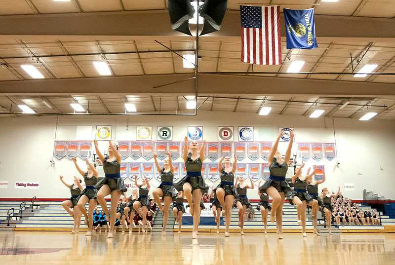 by: SUBMITTED PHOTO: JAMES MCGREW - Lake Oswego High dancers landed first place at a recent festival.
