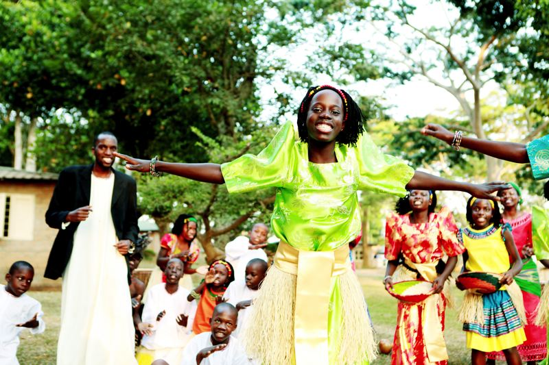 by: CONTRIBUTED PHOTO - Lively dancing and harmony-laden song characterizes the performances of The Watoto Childrens Choir.