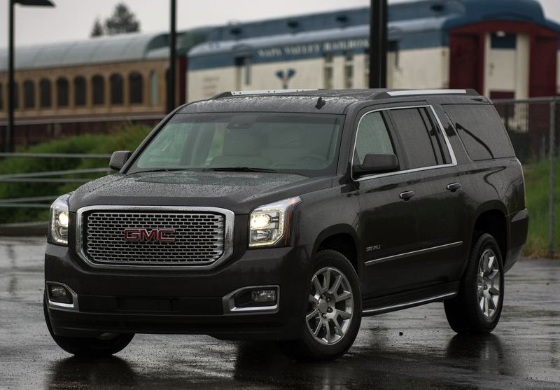 by: JOHN M. VINCENT - One thing the GMC Denali hasn't given up as it has become more luxurious is its driving confidence -- rain or shine.