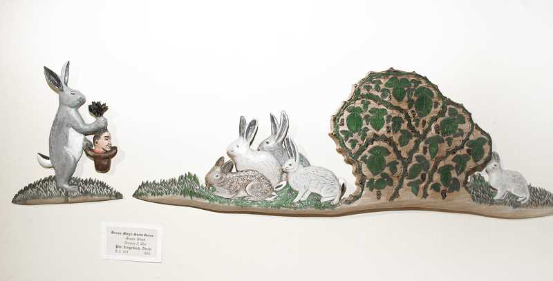 by: ISABEL GAUTSCHI - Hare-old puts a disturbing twist on the old pulling a rabbit out of a hat trick.